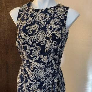 Maggy London silk dress, sz 6